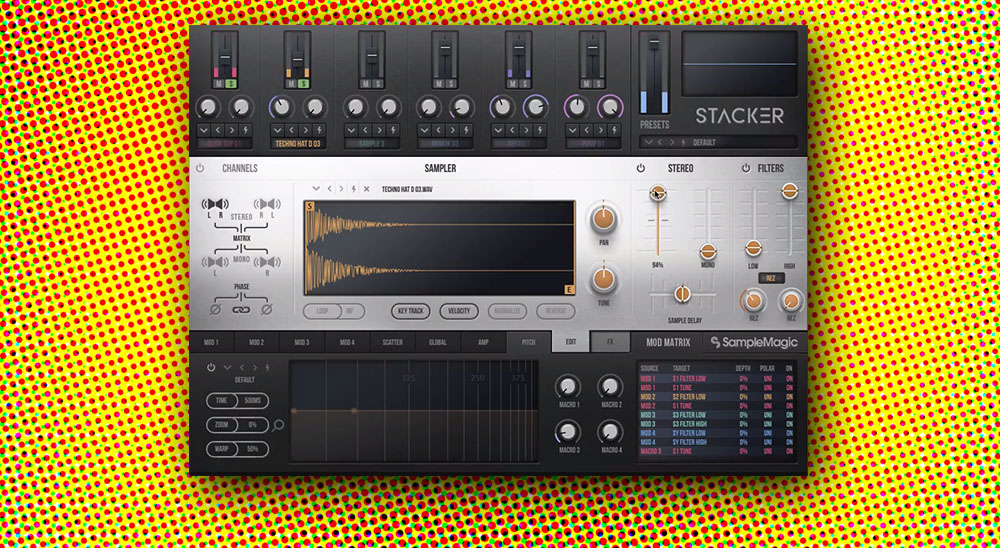 Review: Stacker by Sample Magic | Audio Plugin Guy